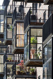 Balkon auf Konservatorium Stockfoto