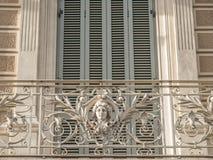Balkon in Barcelona Stock Foto's