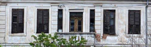 Balkon in bitola, Macedonië royalty-vrije stock foto