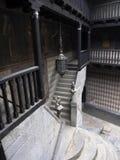 Balkon en treden Royalty-vrije Stock Foto's