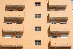 Balkon en vensters Royalty-vrije Stock Afbeelding
