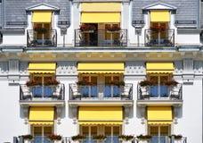 Balkon hotel Obrazy Royalty Free