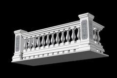 balkon JPG 免版税图库摄影