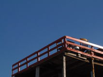 Balkon met een Mening Stock Afbeeldingen