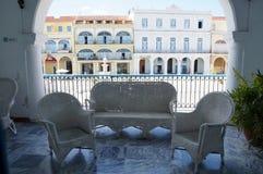 Balkon mit einer Ansicht, Havana Lizenzfreie Stockbilder