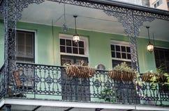 Balkon, New Orleans lizenzfreie stockbilder