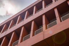 Balkon nowożytny budynek Zdjęcie Stock