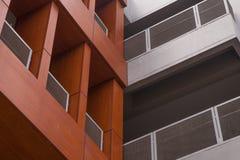 Balkon nowożytny budynek Obraz Royalty Free
