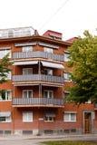 Balkon op flat Royalty-vrije Stock Fotografie