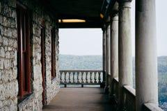 Balkon pagoda na linii horyzontu przejażdżce w czytaniu, Pennsylwania Zdjęcie Royalty Free