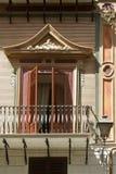 Balkon in Palermo, Sicilië Stock Fotografie