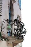 Balkon in Piran - Slowenien Lizenzfreies Stockfoto