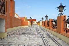 balkon śródziemnomorski Fotografia Stock