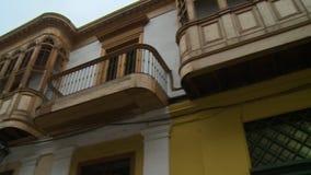 Balkon und Fenster stock video footage