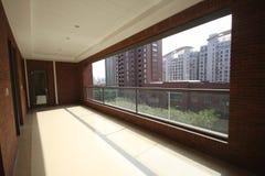 Balkon van een flat Royalty-vrije Stock Afbeeldingen