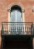 Balkon, Verona, Italië stock afbeelding