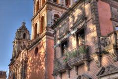 Balkon von San Luis Potosi, Mexiko stockbilder