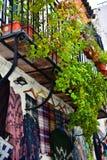 Balkon w Andalusia Zdjęcia Stock