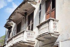 Balkon w Cartagena De Indias Fotografia Royalty Free
