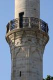 Balkon waar mouezzin tijdens namaz, Larnaca, Cyprus zingt Stock Foto