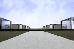 Balkon zu heaven2 lizenzfreie stockbilder