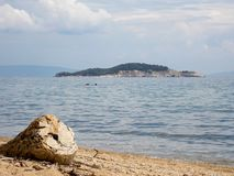 Balkonaki-Strand, Griechenland lizenzfreies stockfoto