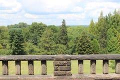 Balkonansicht stockfoto