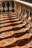 Balkondetails, Tlaquepaque in Sedona, Arizona Stockfotografie