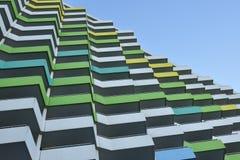 Balkone diagonal Lizenzfreie Stockfotografie