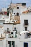 Balkone Ibiza Lizenzfreie Stockfotos