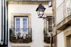 Balkone Lamego Portugal Lizenzfreie Stockbilder