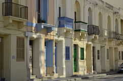 Balkone und Türen stockfotos