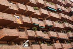 Balkone und Terrassen lizenzfreie stockfotos