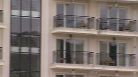 Balkones в пятизвездочной гостинице в болгарском Kranevo видеоматериал