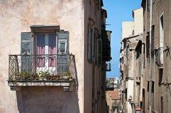 Balkonfenster Lizenzfreie Stockbilder