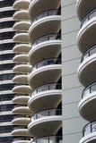 balkong royaltyfri bild