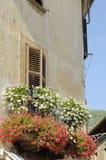 balkong arkivfoto