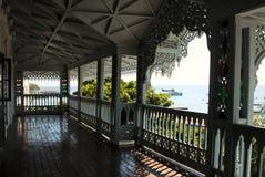 balkong Royaltyfri Fotografi