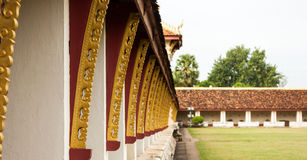 Balkong av Pha som Luang Royaltyfria Foton