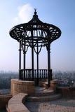 balkong cairo över litet Royaltyfria Bilder