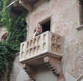 Balkong för Juliet ` s Royaltyfria Foton