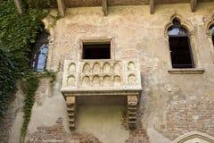 Balkong f?r Juliet ` s arkivfoton