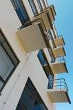 balkongbauhausdessau Arkivbilder