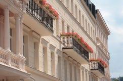 balkongblommor Royaltyfria Foton