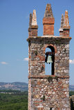 balkongdörrpoggioreale fördärvar Royaltyfri Bild