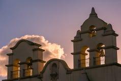 balkongdörrpoggioreale fördärvar Arkivbild