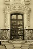 balkongdiego gammal san värld Arkivbild