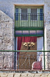 Balkongen Royaltyfri Fotografi
