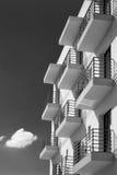 balkonger Arkivbilder