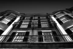 balkonger Royaltyfria Bilder